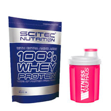 Scitec Nutrition 100% Whey Protein 500g Beutel + Ladyline Shaker