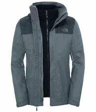 The North Face Herren Evolve II Triclimate Jacket Fusebox Grey / Asphalt Grey