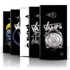 Official The Vamps Case/Cover for Nokia Lumia 730 /The Vamps Graffiti Band Logo