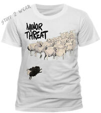 Minor Threat Out Of Step T Shirt OFFICIAL NEW Small