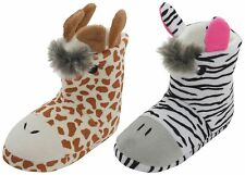 Slumberzzz Kids Animal 3D Plush Novelty Bootie Slippers