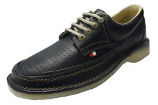 Pod Heritage Navy Gallagher Retro Mod leather Shoes