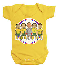 VIPwees Babygrow Australia Football Legends Boys & Girls Baby Bodysuit