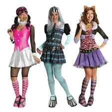 Ladies Official Halloween Monster High Outfit Fancy Dress Costume