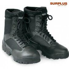 Surplus Herren Men Schuhe 9 Loch Security Sicherheit Boots Stiefel Gr. 39 bis 47