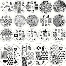 1x BORN PRETTY Nail Art Manucure Stamp Stamping Template Image Plaque Pochoir