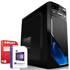 Computer PC Quad Core Intel i5 6600K 8GB RAM 500GB Win 7 /10 Rechner Komplett