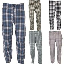 Mens Nightwear Check Pyjamas Comfort  Lounge Pants Sleepwear Trousers Bottoms