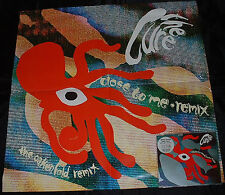 "Close To Me + Poster Cure UK CD single (CD5 / 5"") FICDR36 FICTION 1990"