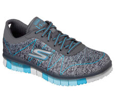 Skechers Go Flex Walk Ability Womens Fitness Sport Lace up Gym Comfort Trainers