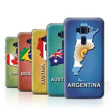 Stuff4 Hülle/Case/Backcover für Asus Zenfone 3 ZE552KL/Flagge Land