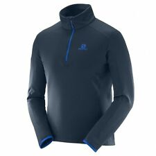 Salomon Discovery HZ Men big blue-x Midlayer Jacke Herren Fleecejacke