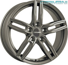 4 Carmani Winterfelgen 14 7.5x17 5x112 GUN für VW Beetle Caddy Cross Eos Golf Je