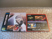 MANUALE FATAL FURY 3 NEO GEO AES ORIGINALE 100% BOOKLET OFFICIAL SNK AES JAP
