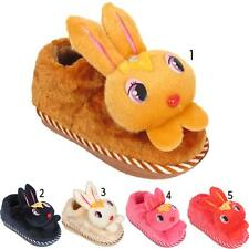 Childrens Kids Infants Cute Girls Boys Bunny Novelty Warm Comfort Slippers Shoes