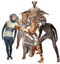 Adult Official Animal Morphsuits Fancy Dress Costume Animal Planet Party Outfit
