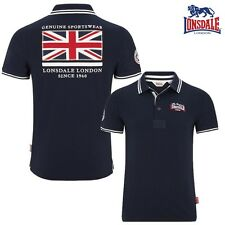 Lonsdale Polo Hombre Belvedere Hombre Camiseta Polo London Boxing GB S hasta 3XL