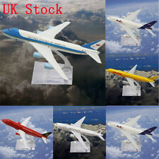 UK Stock Metal Plane Model Aircraft Airlines Boeing Diecast Aeroplane Scale Toys