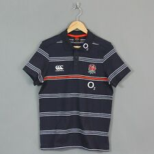 CANTERBURY ENGLAND RUGBY POLO A RIGHE 15/16 Taglie S,M,L,2XL