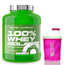 Scitec Nutrition 100% Whey Isolate 2000g Eiweiss + Ladyline Shaker