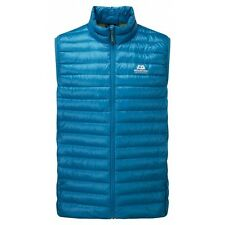 Mountain Equipment Arete Vest Men, leichte Daunenweste für Herren, lagoon blue