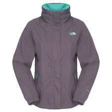 The North Face Resolve Jacket Damen greystone blue-türkis