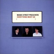 Manic Street Preachers Everything Must Go UK CD album (CDLP) 4839302 EPIC 1996