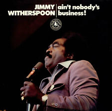 Ain't Nobody's Business! Jimmy Witherspoon vinyl LP album record UK 2460206