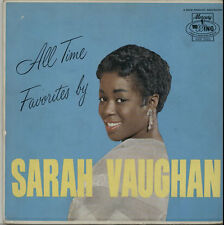 Sarah Vaughan vinyl LP album record All Time Favourites USA MGW12123 WING 1963