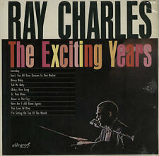 The Exciting Years Ray Charles vinyl LP album record UK ALL762 ALLEGRO 1964