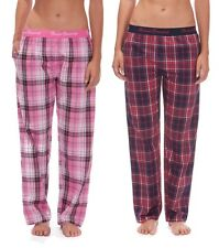 Forever Dreaming Ladies Woven Pyjama Trousers with Jacquard Waistband