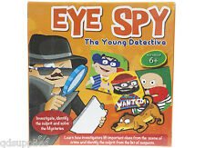 EYE SPY YOUNG DETECTIVE MYSTERY POLICE EDUCATIONAL TOY GAME BOX SET 6yo+ 553003
