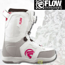 FLOW Snowboardschuhe Boots LOTUS BOA COILER white/pink