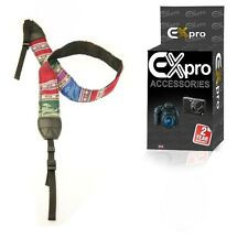 "Ex-Pro® Retro Camera Neck Shoulder Strap 29"" - 45"" - Mexi Dark"