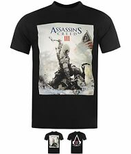 SPORTIVO Official Official Assassins Creed T Shirt Mens Game Over