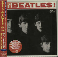 Japan Box Beatles CD Album Box Set Japanese UICY-76429/33 APPLE/UNIVERSAL