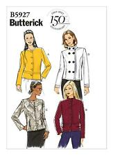 Butterick Easy SEWING PATTERN B5927 Misses Semi-Fitted Jacket 6-14 Or 14-22