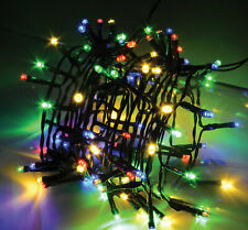 LED Solar Powered 100 Outdoor String Lights Deck Garden Party BBQ Christmas UK