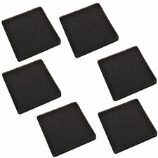 6-Pack HQRP 30 ppi Foam Pads for API Rena Filstar XP Series Canister Filters