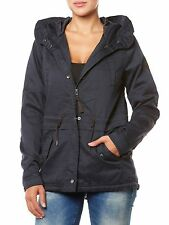 NEU ONLY PARKA DAMEN JACKE ONLTODAY AW PARKA JACKET DUNKELBLAU BLUE WOMEN