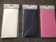 Hey Baby! Changing Mat Wipe Clean Compact for Changing Bag - WHITE / BLUE / PINK