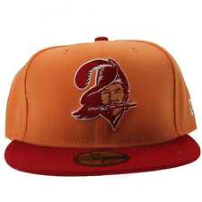 New Era NFL Historic Basic Tampa Bay Buccaneers Orange & Red 59FIFTY Fitted Cap