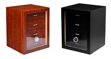 CAVE A CIGARE HUMIDOR 170 CIGARES 4 TIROIRS NEUF