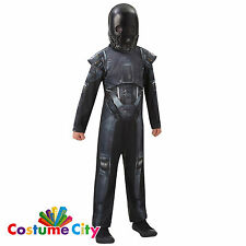 Childs Boys Official Star Wars: Rogue One K-2SO Fancy Dress Party Costume