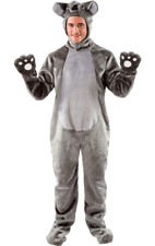 Adult Ladies Mens Animal Koala Zoo Jungle Fancy Dress Costume
