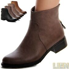 Boots Ankle Boots Boots Women's Shoes Pull On Boots Platform WOW 1038