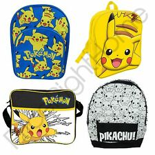 POKEMON BACKPACKS OFFICIAL COURIER SHOULDER BAG SCHOOL BAGS NEW *UK SELLER*