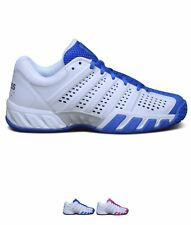 MODA K Swiss Swiss Bigshot Lite Junior Tennis Shoes White/Blue