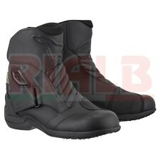 Stivali Bassi Moto in Pelle Alpinestars NEW LAND GORETEX Boot Traspiranti