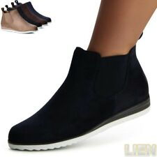 Zapatos Mujer Chelsea Boots Botas Corto Reptil Look